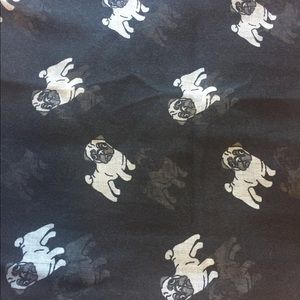 Accessories - Pug Infinity Scarf NEW
