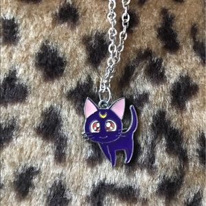 Jewelry - Sailor moon cat necklace