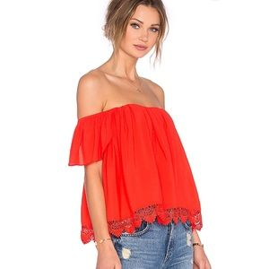 🆕 Lovers + Friends Off the Shoulder Top