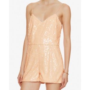 🆕 Jay Godfrey Blush Sequin Romper