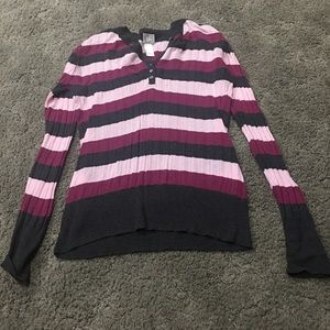 Tops - Striped Sweater