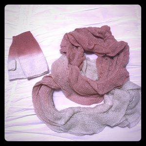 Accessories - Ruffle Scarf & Match Gloves