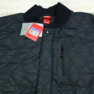 64bccf2c577c Nike Jackets   Coats - Nike Air Varsity Quilted Jacket Zip Off Sleeve 3XL