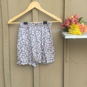 Dresses & Skirts - Pink, Grey and White Mini Skirt
