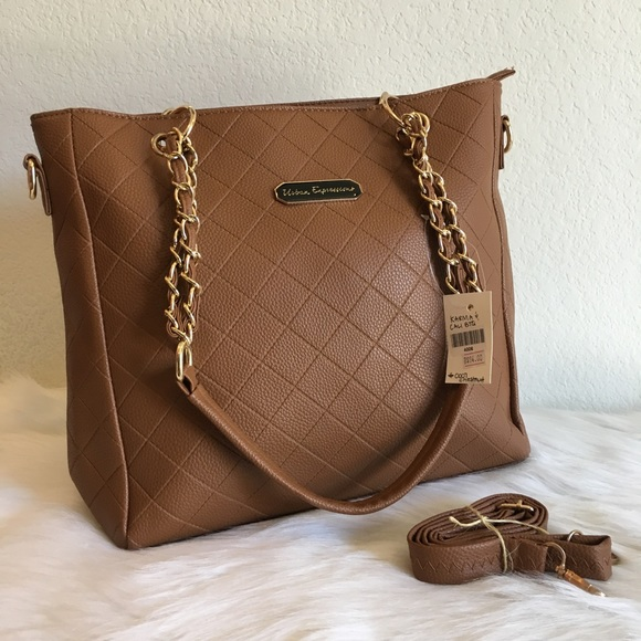 76867d45bf3f Chestnut Quilted boutique handbag   purse