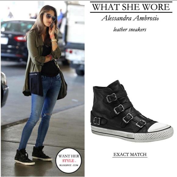 Ash Shoes | Ash Virgin Leather Buckle