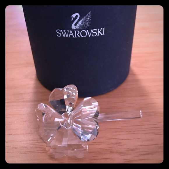 278da6c0d55b0f Swarovski Crystal Figure Four Leaf Clover