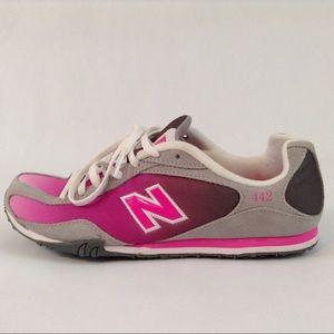 New Balance 442 Running Shoes Pink Gray 9.5M