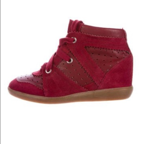 7d2012515a Isabel Marant Shoes - FLASH SALE: ISABEL MARANT BOBBY WEDGE SNEAKERS