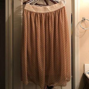 Dresses & Skirts - Cute polka dot skirt