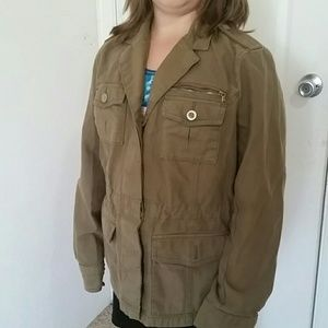 Eddie Bauer Utility jacket military colors