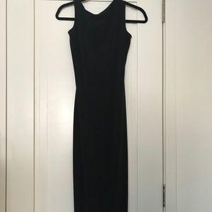 Black slip dress.  NEVER WORN, has tags