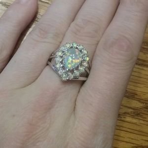 Jewelry - Opal Ring Size 7