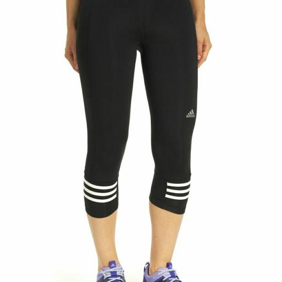 0a874881099d2 Adidas Pants | Womens Three Quarter Leggings | Poshmark