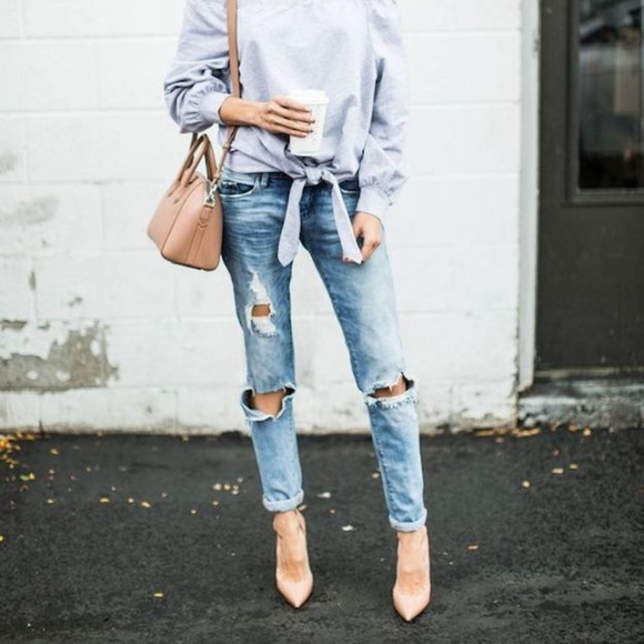 American Eagle Outfitters Denim - Skinny Ripped Jeans