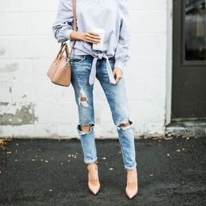 American Eagle Outfitters Jeans - Skinny Ripped Jeans