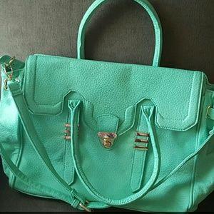 Beautiful mint green handbag