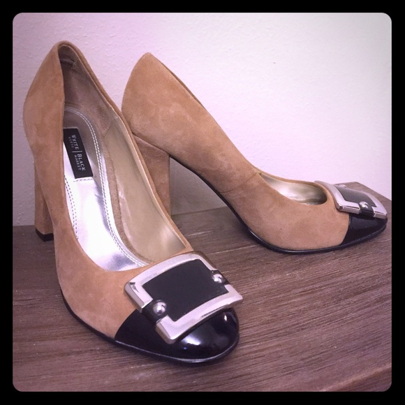 8afb2cb5d28b ... black patent block heels. M 5974bf7a2de51220220243b3