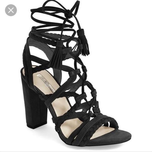 e2083d11ec84 BCBGeneration Shoes - BCBG generation Ronny lace up block heel sandal 6