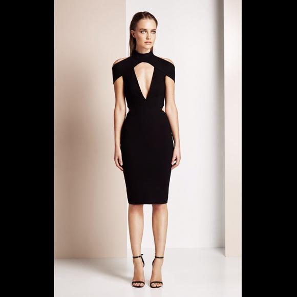 2cc0ce3e75c NWT Olcay Gulsen black cutout dress