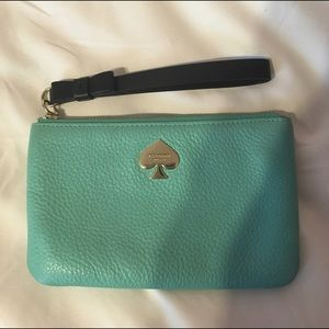 Kate Spade Teal Wallet/wristlet