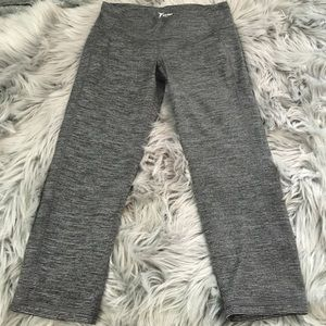 Old Navy striped go dry cropped pants work out