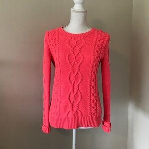 GAP Neon coral sweater