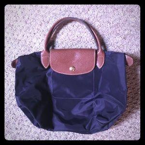 2014 New Light Longchamp Bubble Bags Slate Gray
