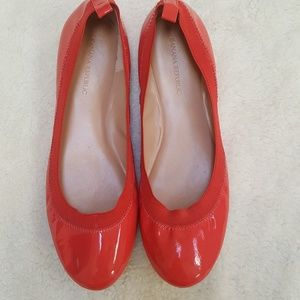 [Banana Republic] Coral Patent Leather Flats