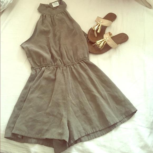 e433d962d746 Dresses   Skirts - Sienna Sky olive green romper