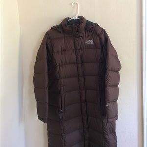 135c48008f North Face Jackets   Coats - North Face Triple C II Down Parka in Brown