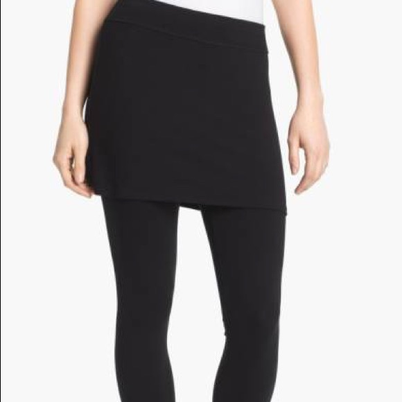 5a8f9d117f7b1 Eileen Fisher Other - Eileen Fisher skirted ankle leggings