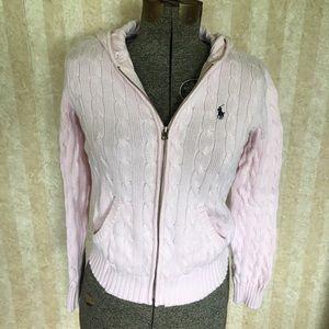 Ralph Lauren Sport zip front sweater