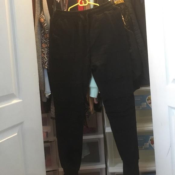 71a1b5409a FSBN Pants | Black Joggers | Poshmark
