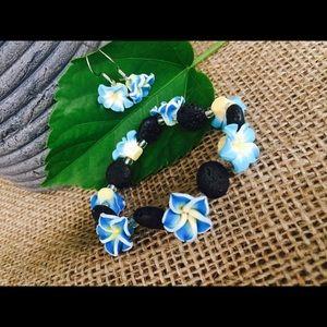 Jewelry - Beachy Jewelry Set ~ Handmade ~ Brand new