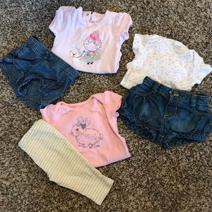 Other - Denim shorts and extras!