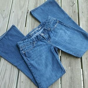 AEO real flare jeans size 2