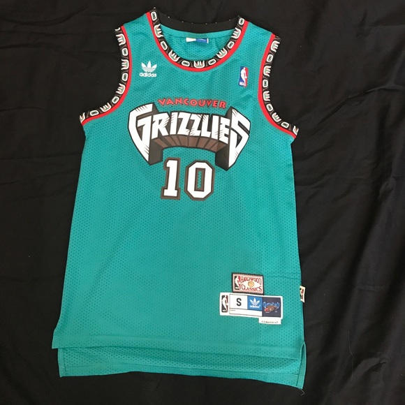40ccca21bad8 adidas Other - Vancouver Grizzlies Mike Bibby Adidas Jersey sz. S