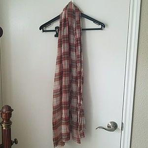 ZARA plaid scarf