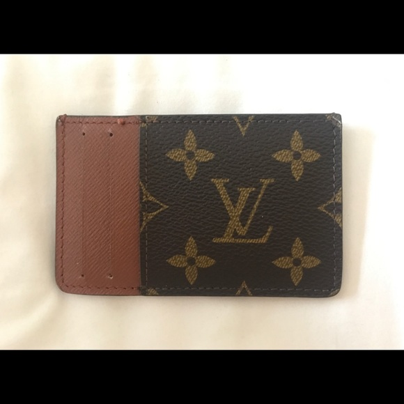 new concept 32c81 1382a LOUIS VUITTON Classic Men's Cardholder