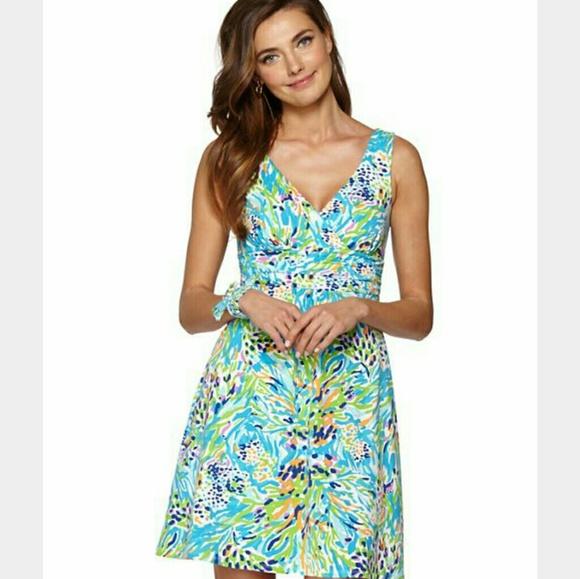 055ef32e5f4d84 Lilly Pulitzer Dresses & Skirts - LILLY PULITZER SEA SOIREE SHIANNE DRESS  SLOANE LG