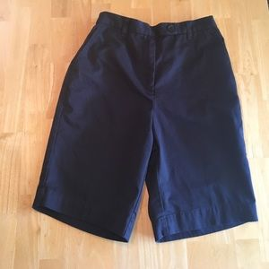 Lands End navy shorts