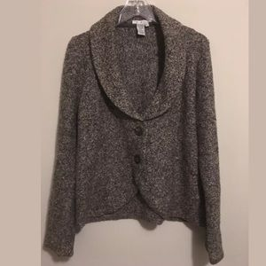 CABI #340 KNIT THICK CARDIGAN SWEATER HOBO JACKET