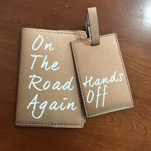 Passport cover & luggage tag