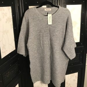 Sweaters - NWT Gray Slouchy Sweater Tunic
