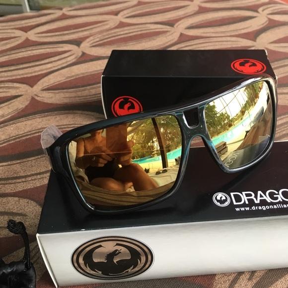 64d4425182 Dragon The Jam black gold ion NIB sunglasses