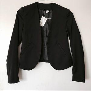NWT Cropped Blazer w/ Single Clasp
