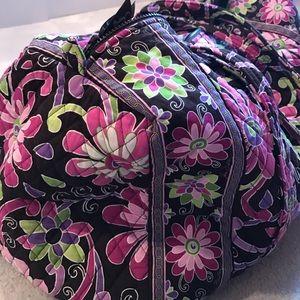 Vera Bradley Bags - Gently Used Vera Bradley Large Duffel Purple Punch 01df0a694c