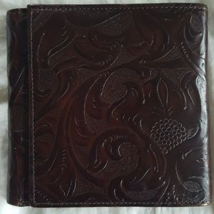 Accessories - Tooled Leather Wallet