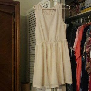 Dresses & Skirts - Cream colored A line Dress